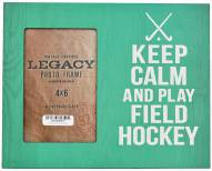 Field Hockey Keep Calm 4x6 Picture Frame