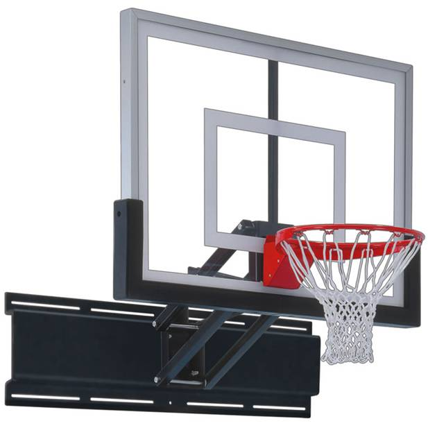 Whether Youu0027re Wall Mounting A Hoop Indoors Or Out, The First Team  Uni Champ Nitro Adjustable Wall Mount Basketball Hoop Is A Reliable Option.