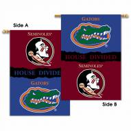 Florida/Florida State 2-Sided House Divided Banner