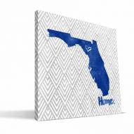 "Florida Gators 12"" x 12"" Home Canvas Print"