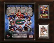 "Florida Gators 12"" x 15"" All-Time Greats Photo Plaque"