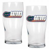 Florida Gators 20 oz. Pub Glass - Set of 2