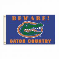 Florida Gators 3' x 5' Beware Flag