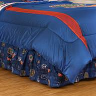 Florida Gators All Over Bed Skirt