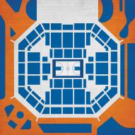 Florida Gators Basketball Arena Print