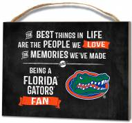 Florida Gators Best Things Small Plaque