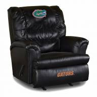 Florida Gators Big Daddy Leather Recliner
