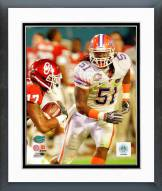 Florida Gators Brandon Spikes 2008 Action Framed Photo
