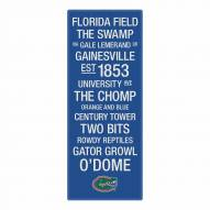 Florida Gators Canvas Color Subway Art