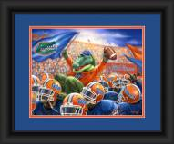 Florida Gators Celebration Framed Print