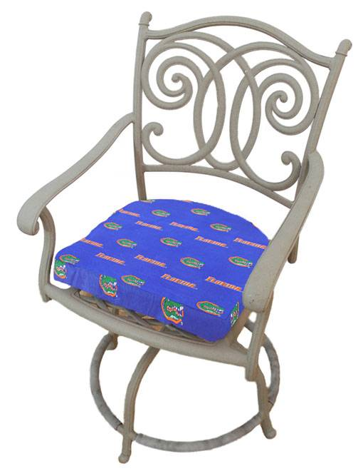 Add Some Team Spirit To Your Chair With The Florida Gators D Chair Cushion!  This Comfy Cushion Features An All Over Logo Print Design, And Transforms A  Firm ...