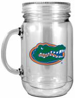 Florida Gators Double Walled Mason Jar