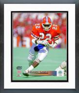 Florida Gators Emmitt Smith 1988 Action Framed Photo