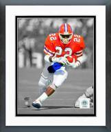 Florida Gators Emmitt Smith 1988 Spotlight Action Framed Photo