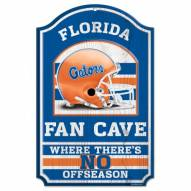 Florida Gators Fan Cave Wood Sign