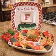 Florida Gators Gameday Chip N Dip Dish