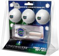 Florida Gators Golf Ball Gift Pack with Kool Tool