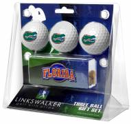 Florida Gators Golf Ball Gift Pack with Slider Clip