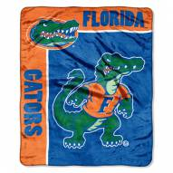 Florida Gators Jersey Mesh Raschel Throw Blanket
