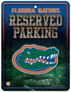 Florida Gators Metal Parking Sign