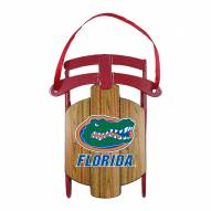 Florida Gators Metal Sled Tree Ornament