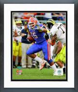 Florida Gators Mike Pouncey 2008 Action Framed Photo