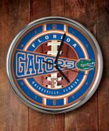 Florida Gators NCAA Chrome Wall Clock