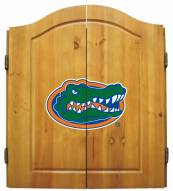 Florida Gators NCAA Complete Dart Board Cabinet Set