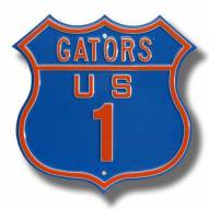 Florida Gators NCAA Embossed Route Sign