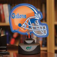 Florida Gators Neon Helmet Desk Lamp