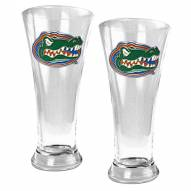 Florida Gators College 2-Piece Pilsner Glass Set
