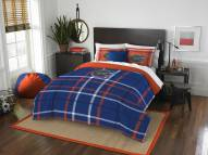 Florida Gators Plaid Full Comforter Set