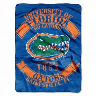 Florida Gators Rebel Raschel Throw Blanket