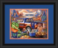 Florida Gators Tailgate Framed Print