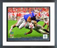 Florida Gators Tim Tebow 2007 Action Framed Photo