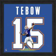 Florida Gators Tim Tebow Uniframe Framed Jersey Photo