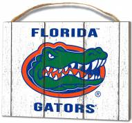 Florida Gators Weathered Logo Small Plaque