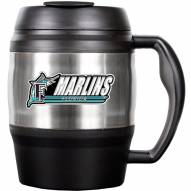 Florida Marlins 52 Oz. Stainless Steel Macho Travel Mug