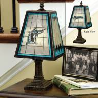 Florida Marlins Art Glass Table Lamp