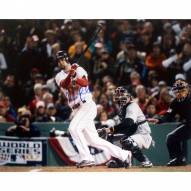 "Florida Marlins Mike Lowell 2007 World Series Home Swing Signed 16"" x 20"" Photo"
