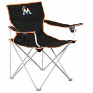 Miami Marlins MLB Deluxe Outdoor Chair