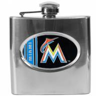 Florida Marlins MLB 6 Oz. Stainless Steel Hip Flask