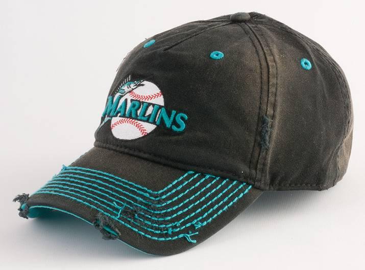 florida marlins u2 baseball hat