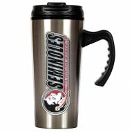 Florida State Seminoles 16 oz. Stainless Steel Travel Mug