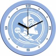 Florida State Seminoles Baby Blue Wall Clock