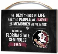 Florida State Seminoles Best Things Small Plaque