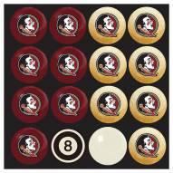 Florida State Seminoles Home vs. Away Pool Ball Set