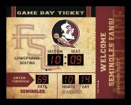 Florida State Seminoles Bluetooth Scoreboard Wall Clock