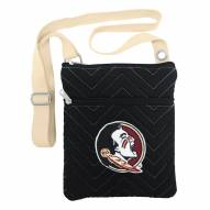 Florida State Seminoles Chevron Stitch Crossbody Bag