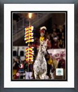 Florida State Seminoles Chief Osceola Mascot Framed Photo